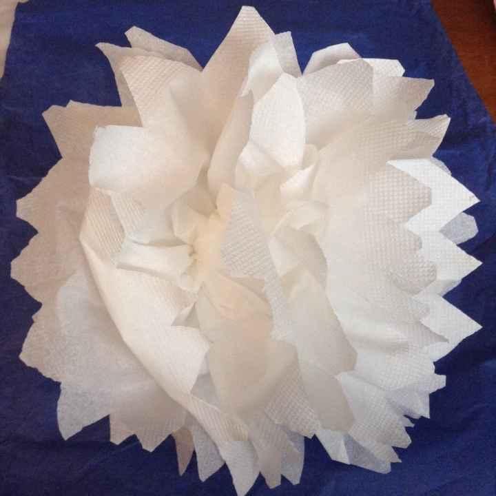 Pompons en papier - 2