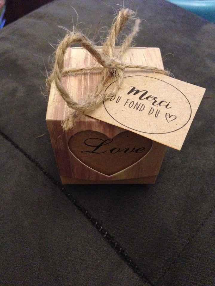 Toile pour photos + cadeaux invités - 3