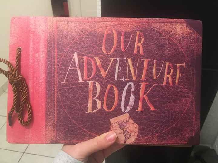 Mon livre d'or - «là-haut» Thème Disney - 1