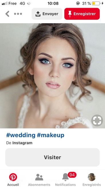 Essai maquillage 💄 - 3