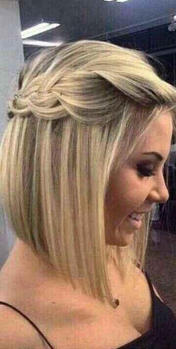 Coiffure sur cheveux court - 4