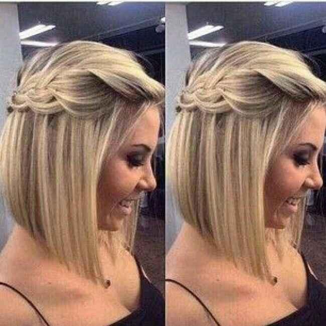 Coiffure sur cheveux court - 5