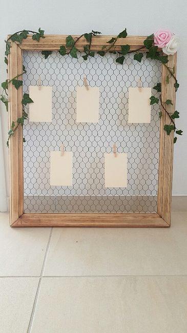 plan de table champ tre fait maison pour 12 euro d coration forum. Black Bedroom Furniture Sets. Home Design Ideas