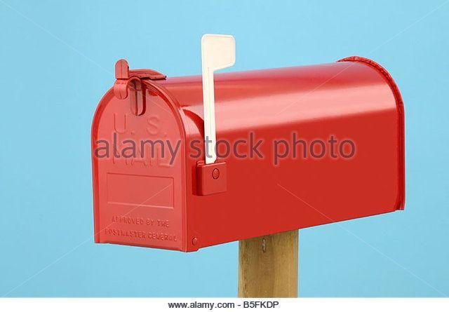 Us mail post box