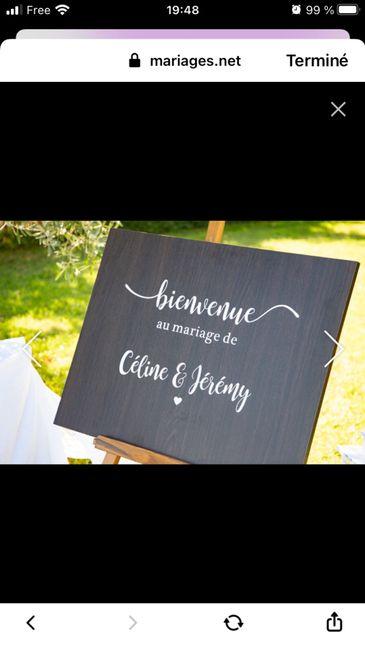 Panneaux de mariage 4