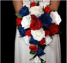 Mariage inspiration Bleu/blanc/rouge 13