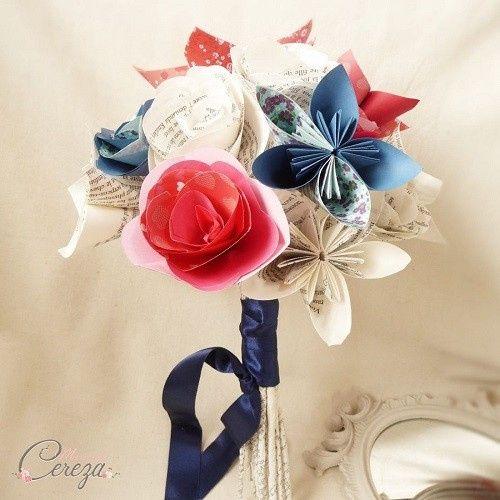 Mariage inspiration Bleu/blanc/rouge 15