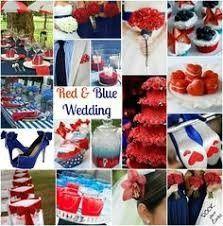 Mariage inspiration Bleu/blanc/rouge 25