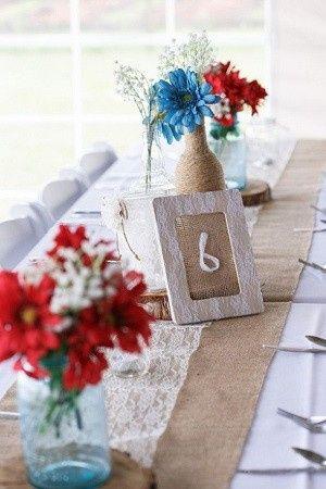 Mariage inspiration Bleu/blanc/rouge 31