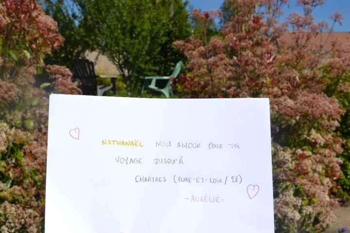 Love Note Aurélie Nathanaël