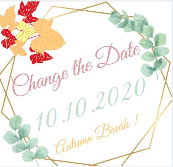 Change The Date ! - 1