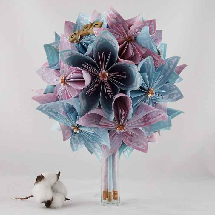 Duel : bouquet fleurs fraîches ou fleurs séchées - 1
