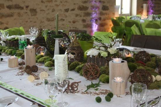 Th me du mariage comment s 39 en sortir que choisir organisation du - Decoration nature mariage ...