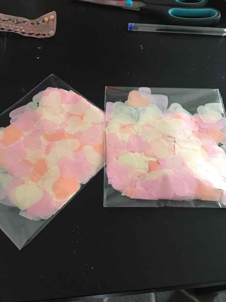 Confettis biodégradables - 1