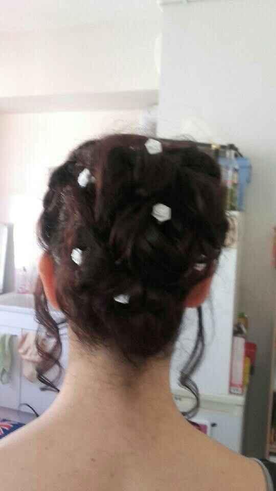 Essai maquillage et coiffure, vos avis? - 2