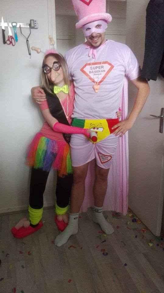les déguisements haaaa!!!!!