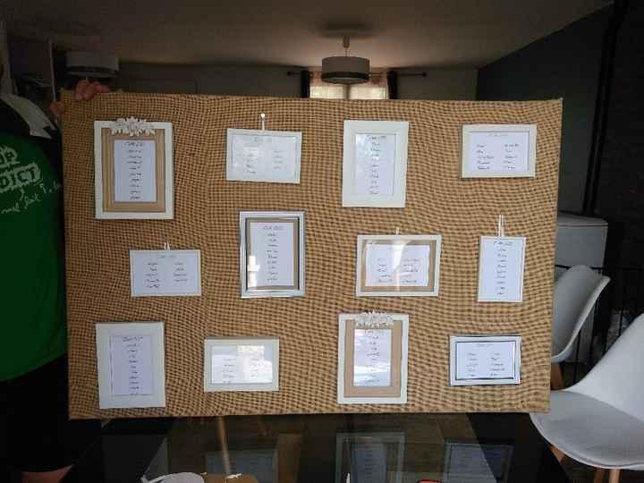 Idée urne et plan de table ? - 1