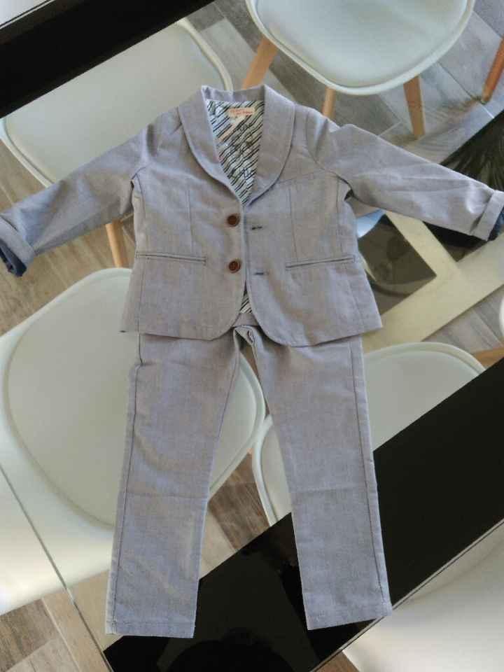 Costume de mon fils - 1