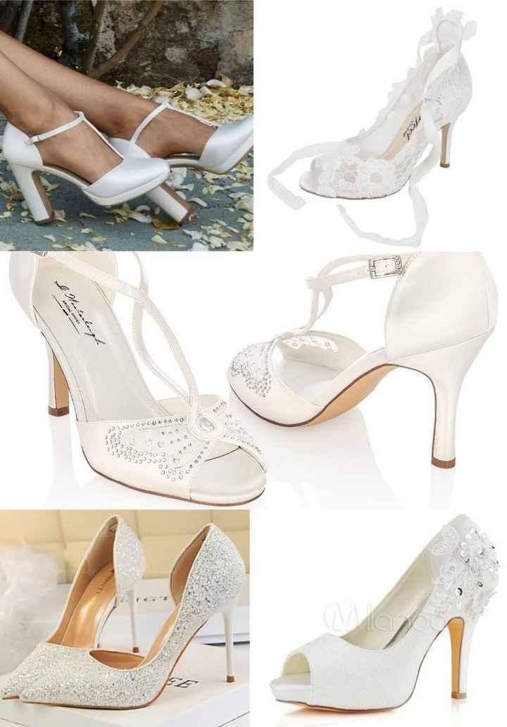 Inspi: chaussures de mariées 1