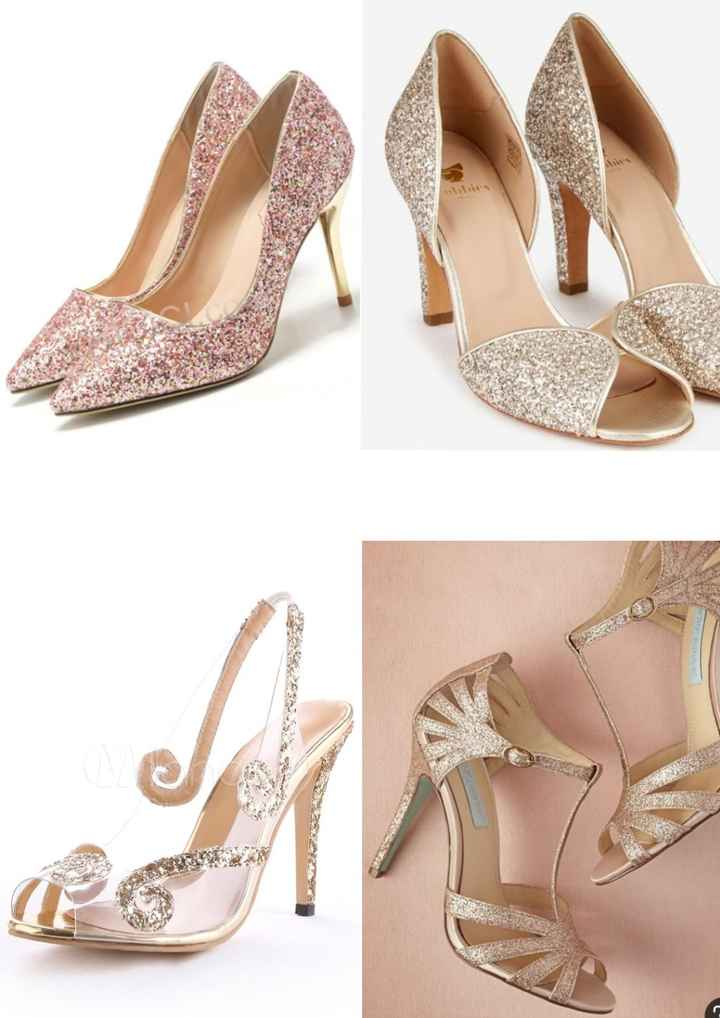 Inspi: chaussures de mariées 5