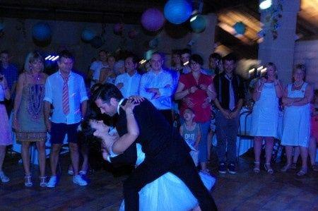 ouverture du bal sur l'hymne à l'amour
