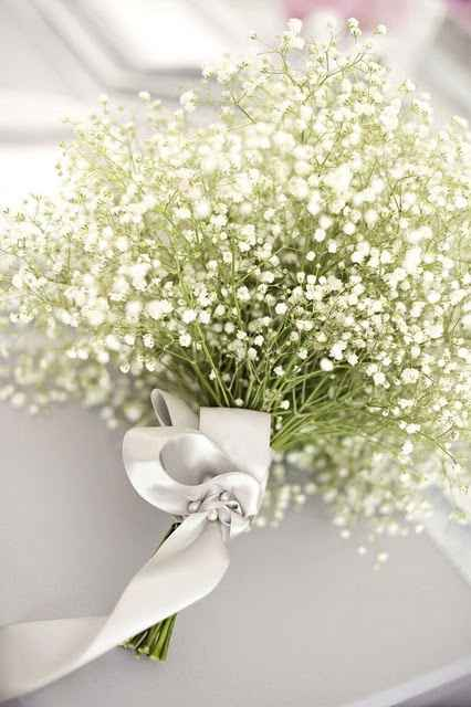 bouquet gypsophile