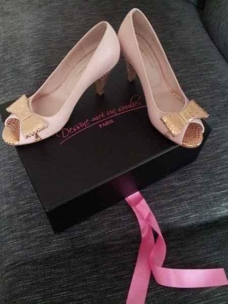 mes chaussures pour l'église