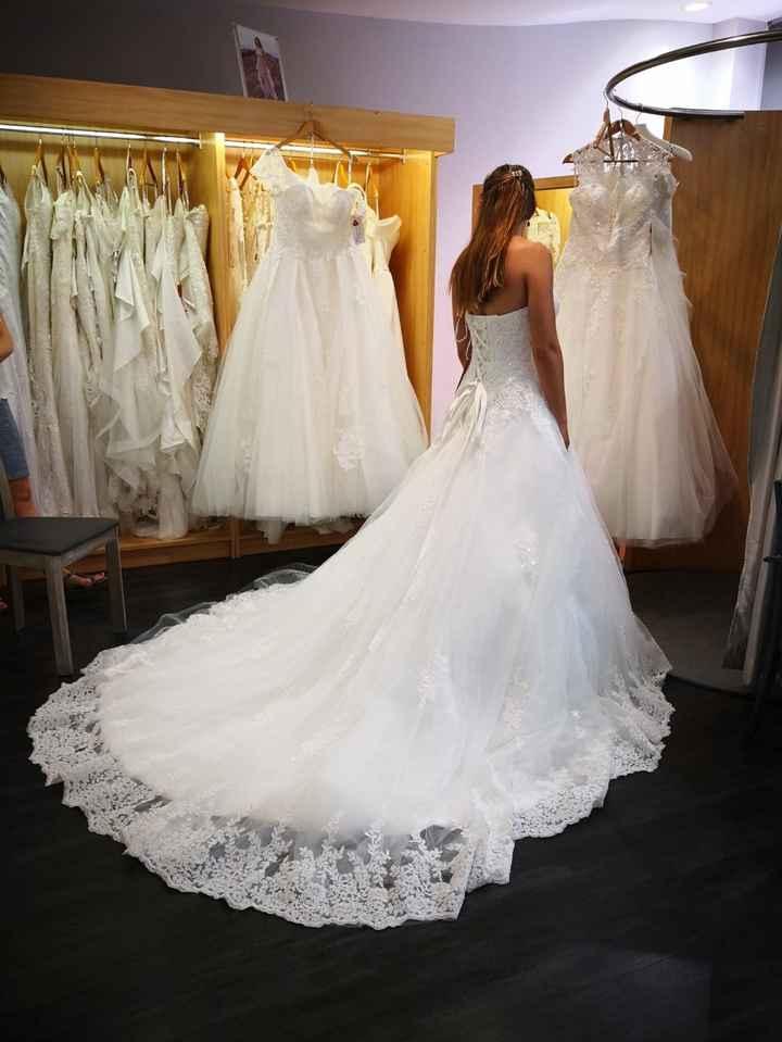 Robe de mariée sélectionnée !