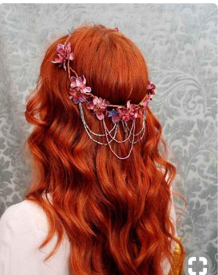 Voici quelques coiffures de mariées aux cheveux colorés - 20