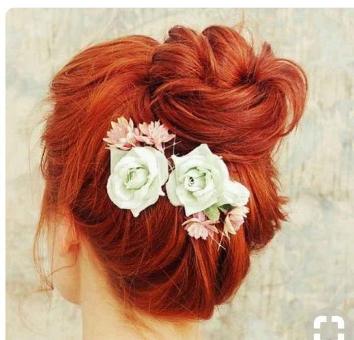 Voici quelques coiffures de mariées aux cheveux colorés - 21