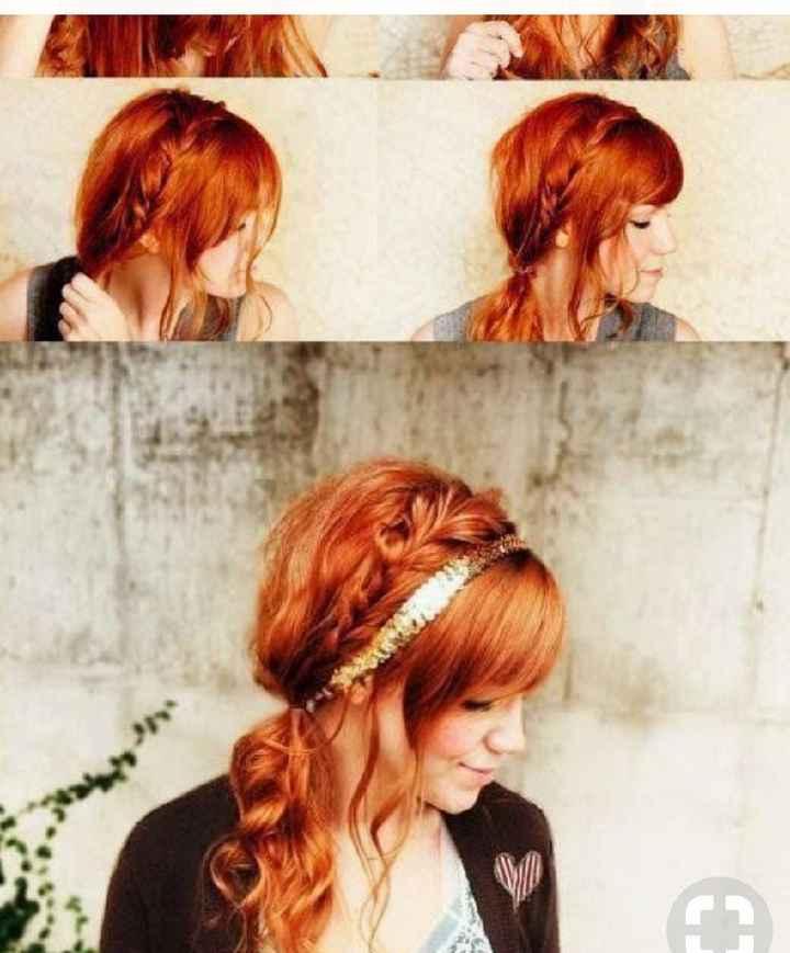Voici quelques coiffures de mariées aux cheveux colorés - 22