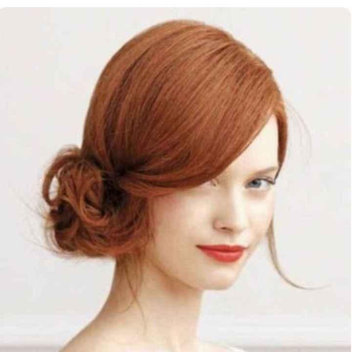 Voici quelques coiffures de mariées aux cheveux colorés - 23