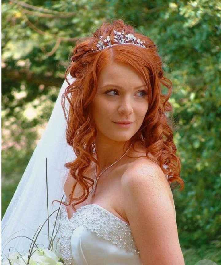 Voici quelques coiffures de mariées aux cheveux colorés - 24