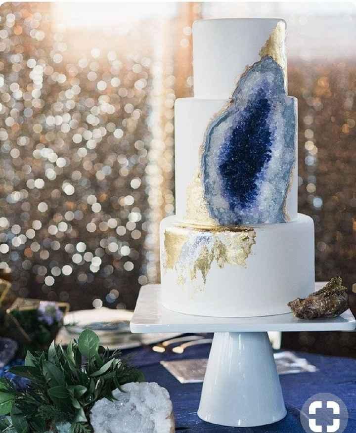 Gâteau geode - 2