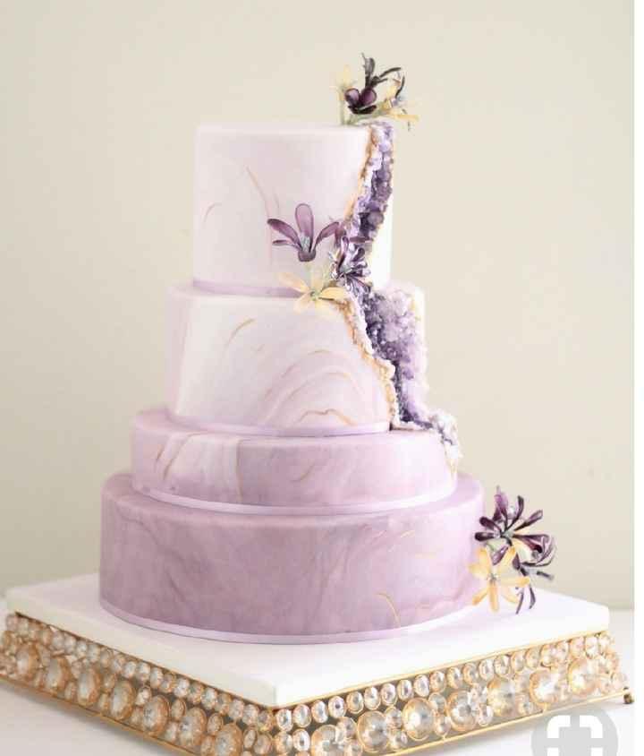 Gâteau geode - 7