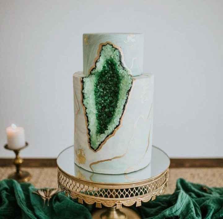 Gâteau geode - 10