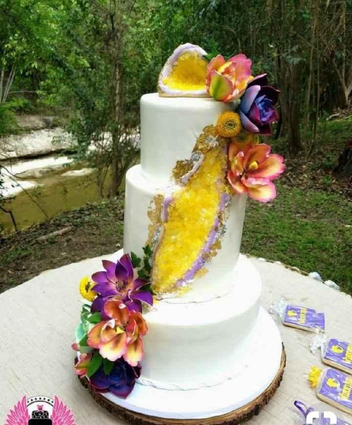 Gâteau geode - 12