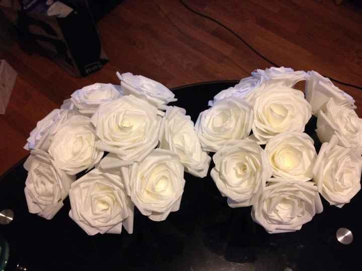 mes fleurs en papiers filtre 1