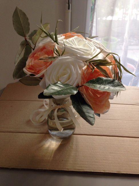 mes fleurs en papiers filtre 4