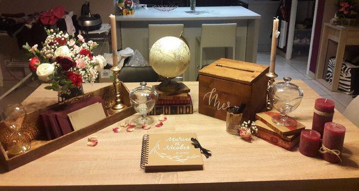 Table urne/livre d'or 4