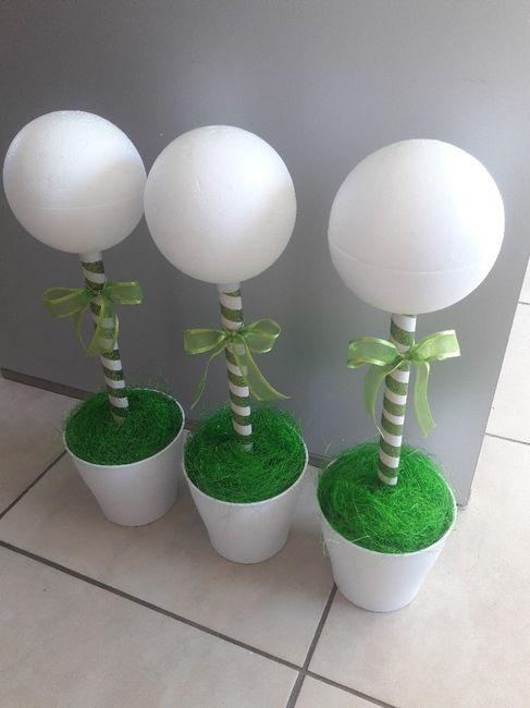 Essai de la decoration de la table des enfants 4