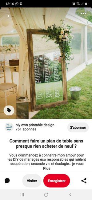 Montrez moi vos plans de tables 16