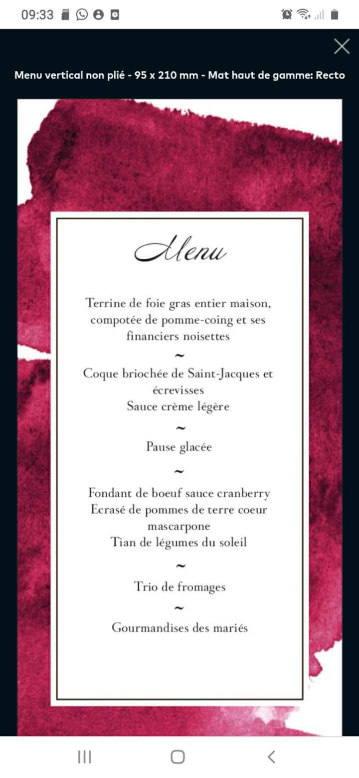 Partageons nos menus 😋 - 1