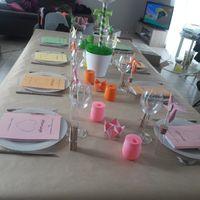 Essai de la decoration de la table des enfants - 1