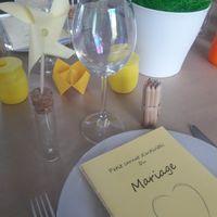 Essai de la decoration de la table des enfants - 2