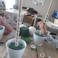 Essai de la decoration de la table des enfants - 3