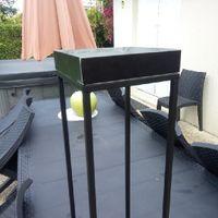 Recherche cadre rectangulaire métal (or) pour décoration de table - 1
