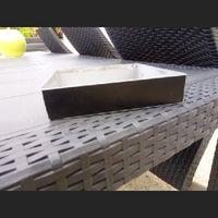 Recherche cadre rectangulaire métal (or) pour décoration de table - 2
