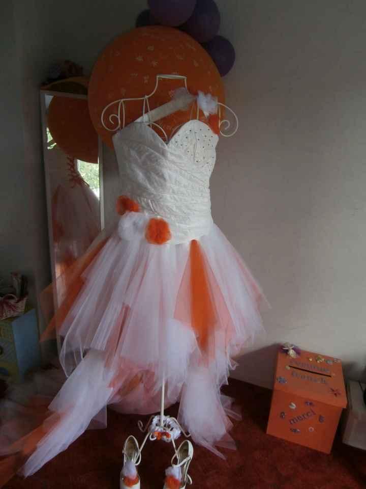 Que ferez vous de votre robe de mariée après le mariage
