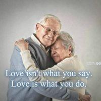 l'amour , les preuves d'amour